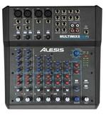 Alesis Alesis MultiMix 8 USB FX 8-Channel USB Desktop Mixer