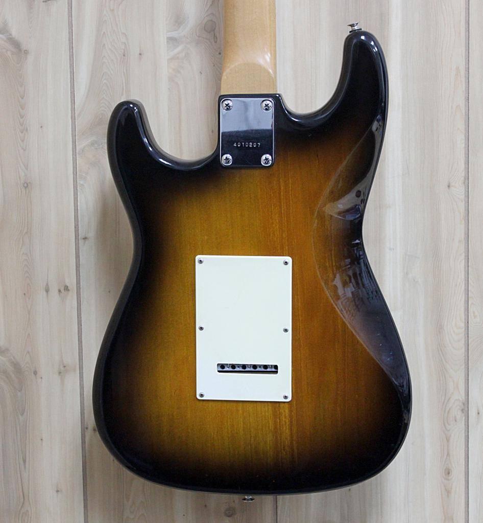 Used Alvarez Sunburst Strat-Style Electric Guitar