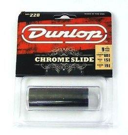 Dunlop Dunlop 220 Chromed Steel Slide, Medium Wall Thickness, Medium
