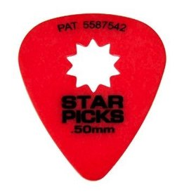 Star Picks .50mm Red 12pk Picks
