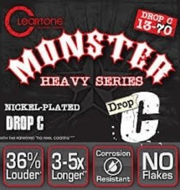 Everly Cleartone Monster Drop C 13-70 Electric Guitar Strings