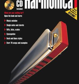 Hal Leonard Hal Leonard FastTrack Harmonica Method - Book 1