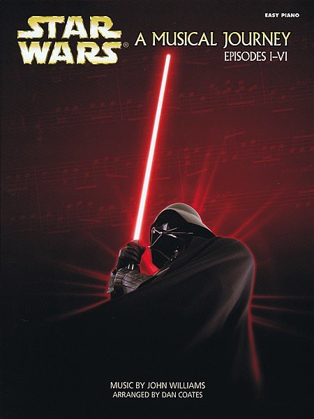 Hal Leonard Star Wars - A Musical Journey (Music from Episodes I-VI) Easy Piano Songbook