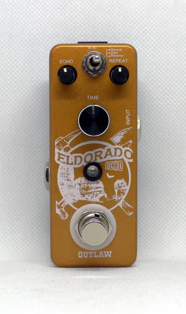 Outlaw Effects El Dorado 3-Mode Echo Pedal