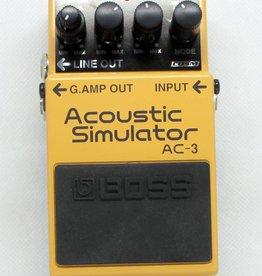 Used Boss AC-3 Acoustic Simulator
