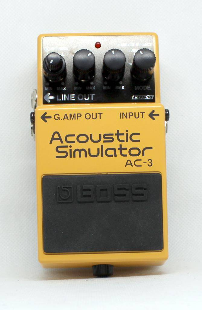 Used Boss AC-3 Acoustic Simulator