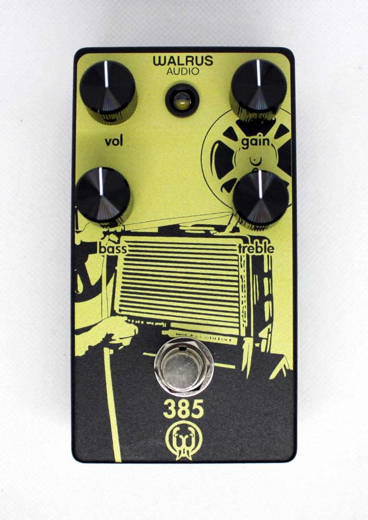 Walrus 385 Overdrive Guitar Pedal