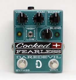 Daredevil Cocked & Fearless 2 in 1 Distortion w/Fixed Wah