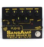 SansAmp Bass Driver DI (v2) - Pre-Amp & DI for Bass