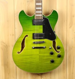 Ibanez Ibanez AS Artcore 6str Electric Guitar  - Green Valley Gradation