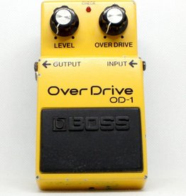 Boss Used Boss OD-1 Japan 1988 JRC4558DD Chip