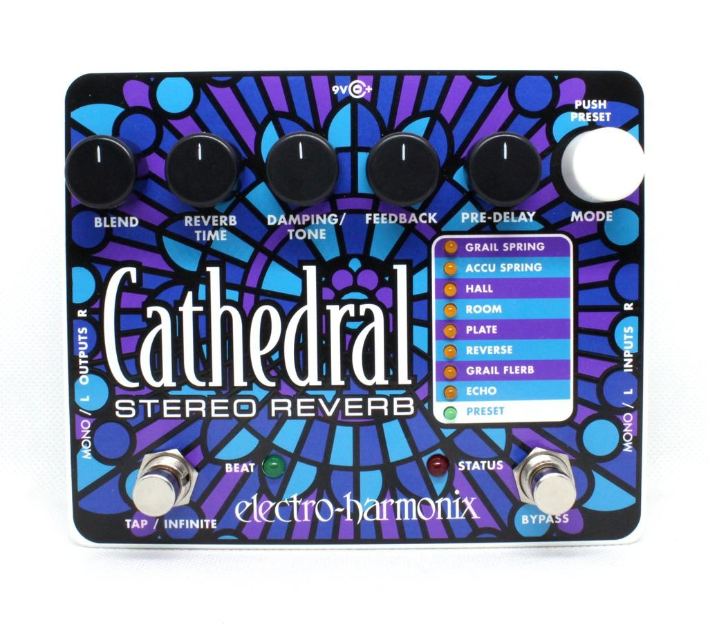 Electro-Harmonix Cathedral Deluxe Stereo Reverb