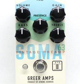 Greer SOMA 63 Vintage Preamp