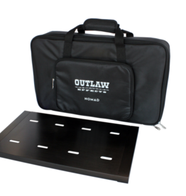 "Outlaw Effects Nomad Rechargable Battery-Powered Pedal Board - 19 1⁄4"" × 11"""