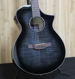 Ibanez Ibanez AEWC400TKS Acoustic Guitar in Transparent Black Sunburst High Gloss