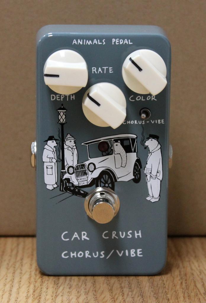 Animals Pedal Car Crush Chorus/Vibe Pedal
