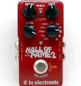 TC Electronic TC ELEC HOF Hall of Fame 2 Reverb