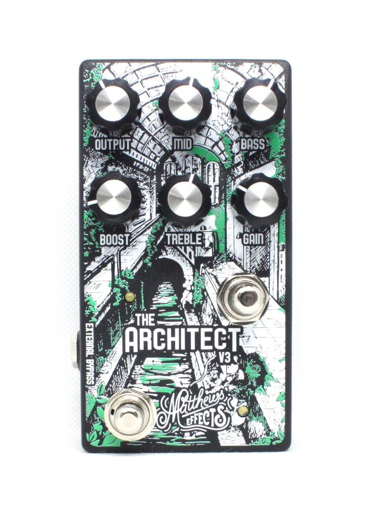 Matthews Effects Architect V3 K-Type Overdrive & Boost Pedal