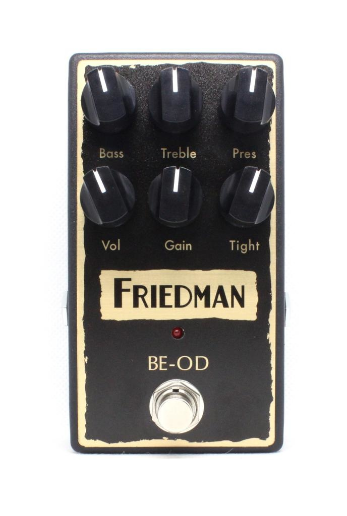 Friedman BE-OD Overdrive Pedal based on BE Amplifier