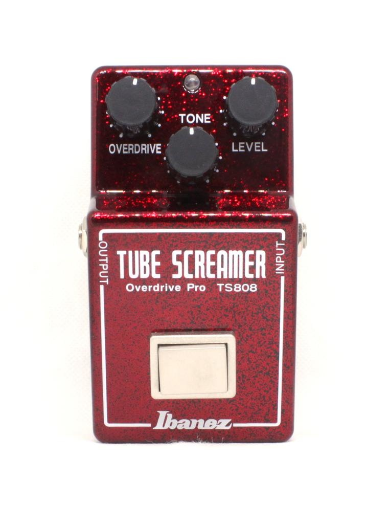 Ibanez Ibanez TS808 40th Anniversary Tube Screamer in Sparkle Red Casing