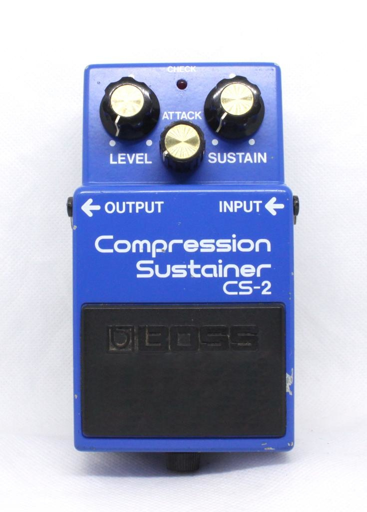 Boss Used Boss CS-2 Compression Sustainer