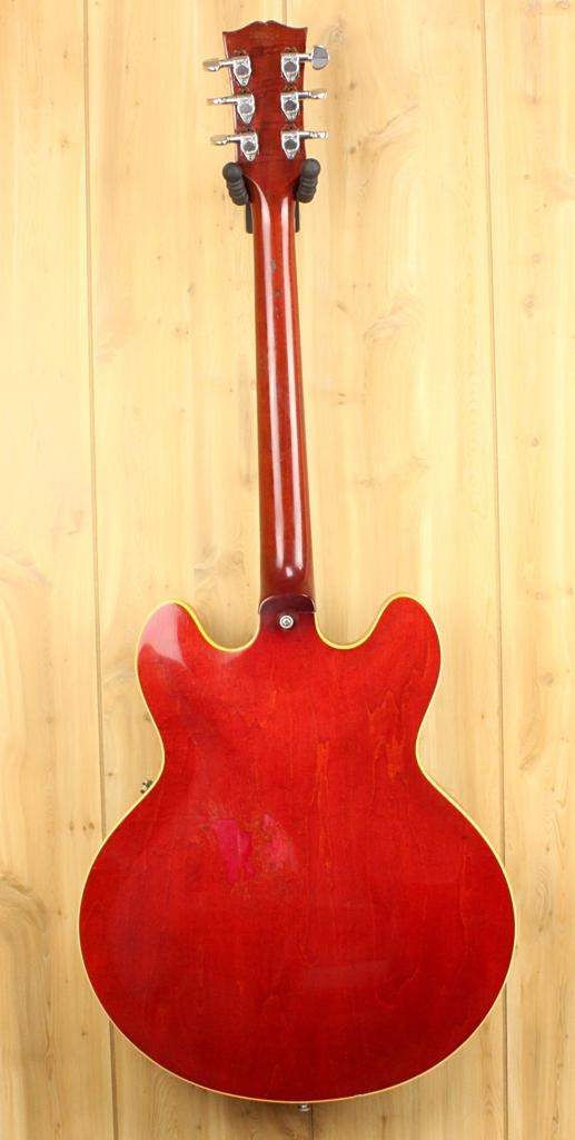 Gibson Vintage/Used 1965 Gibson ES-330TDC Modified w/original Chip Board Case