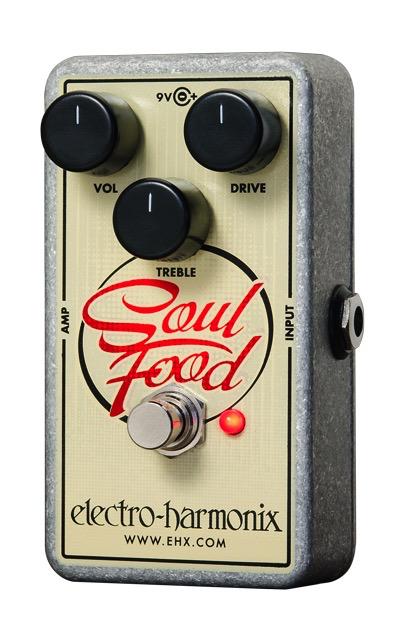 Electro Harmonix Electro Harmonix Soul Food Transparent Overdrive Pedal