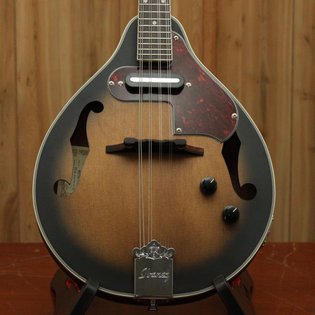 Ibanez Ibanez M510EOVS A-Style Electric Mandolin in Open Pore Vintage Sunburst