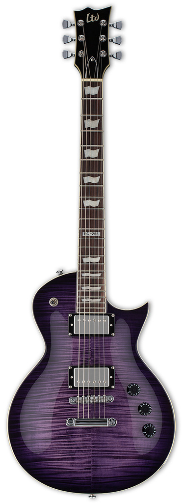 LTD EC-256 FM Transparent Purple Burst
