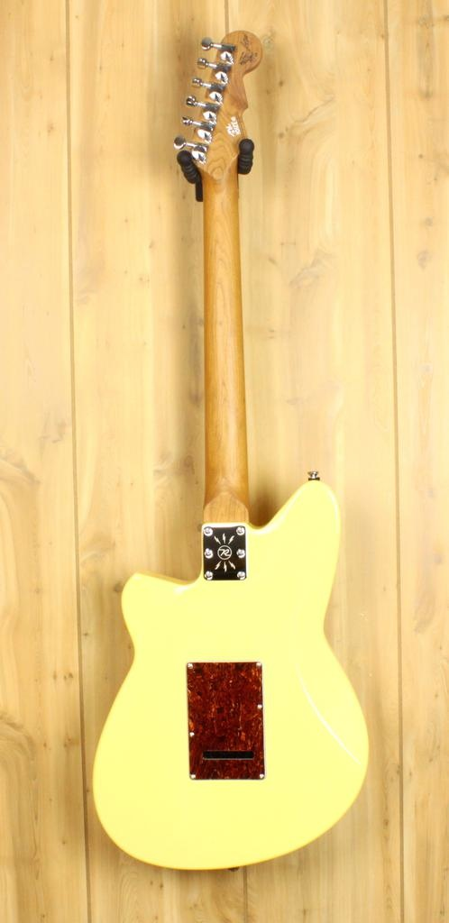 Reverend Reverend Matt West Signature Guitar in Powder Yellow