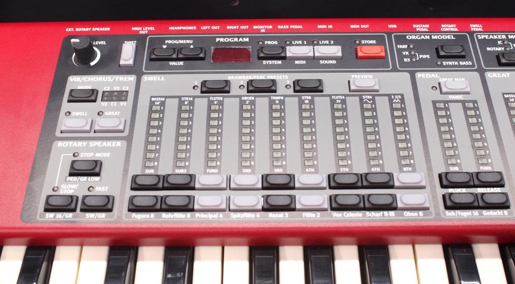 Used Nord C2 Combo Organ w/Stand, Case & Sustain Pedal