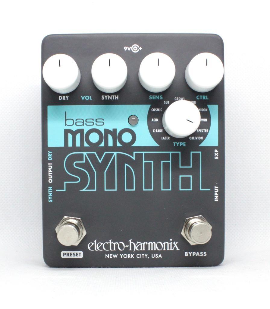 EHX Bass Mono Synth Pedal
