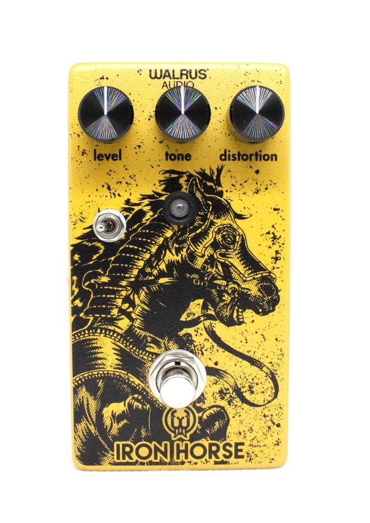 Walrus Walrus Iron Horse Distortion Lm308 Guitar Pedal V2