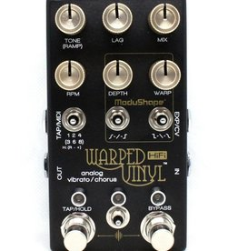 Chase Bliss Audio Warped Vinyl™ HiFi: Analog Vibrato/Chorus Pedal
