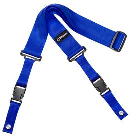 """DiMarzio DiMarzio ClipLock 2"""" Nylon Straps - Blue"""