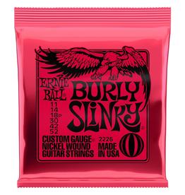 Ernie Ball Ernie Ball Electric Guitar Strings, Burly Slinky, .011-.052