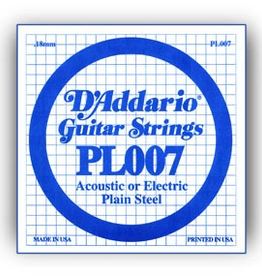 D'Addario D'Addario Single Plain Steel .010