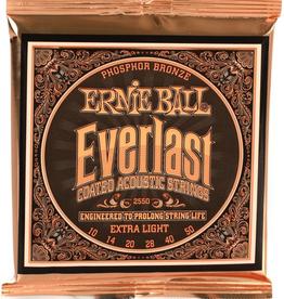 Ernie Ball Ernie Ball Everlast Coated Acoustic Strings Extra Light 10-50