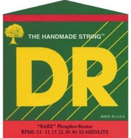 DR DR RARE™ - Phosphor Bronze Acoustic: 11, 15, 22, 30, 40, 50