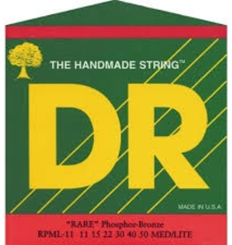 DR DR RARE™ - Phosphor Bronze Acoustic Guitar Strings: Custom Light 11-50