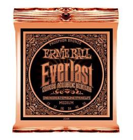 Ernie Ball Ernie Ball Everlast Coated Acoustic Guitar Strings Medium Gauge 13-56s