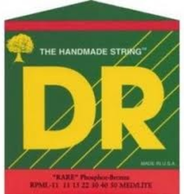 DR DR RARE™ - Phosphor Bronze Acoustic Guitar Strings: Light 12-54