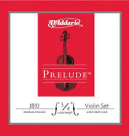 D'Addario D'Addario Prelude 3/4 Violin Strings — Medium Tension