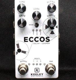 Keeley Eccos Vintage Tape Flanged Delay Pedal