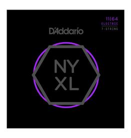 D'Addario D'Addario NYXL Nickel Wound 7-String Electric Guitar Strings, Medium, 11-64