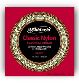 D'Addario D'Addario Classical Nylon Guitar Strings Normal Tension