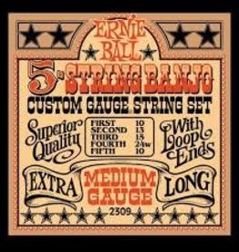 Ernie Ball Ernie Ball 5-String Banjo Medium Gauge Set