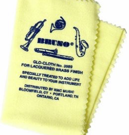 Bruno Glo Cloth for Lacquered Brass Instruments