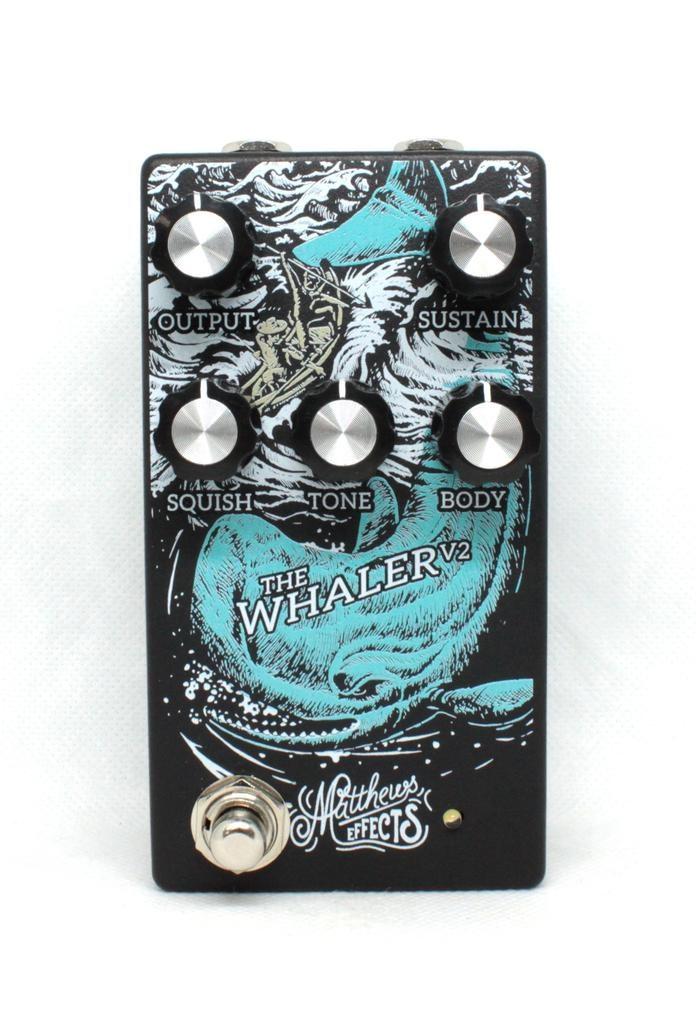 Matthews Effects Whaler Original Fuzz Pedal