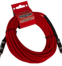 Strukture 18.6' Red Woven Guitar Cable